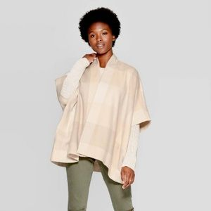 Universal Thread | Poncho With Pockets